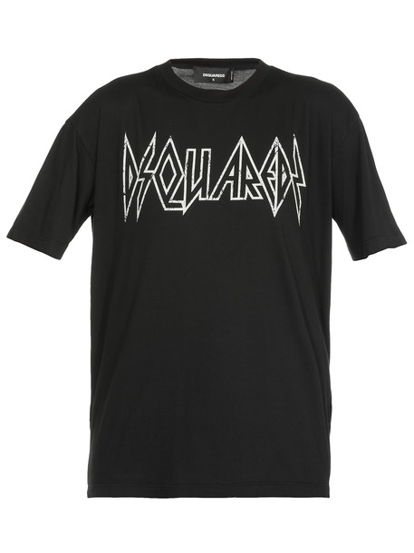 Dsquared2 Logo T-shirt in black