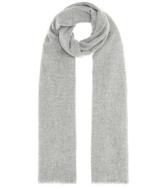 Agnona Cashmere scarf in grey