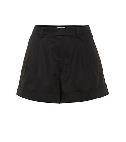 Isabel Marant, Étoile Olbia high-rise cotton shorts in black