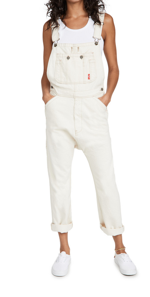 Denimist Overalls in ecru