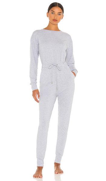 Lovers + Friends Lovers + Friends Vela Lounge Jumpsuit in Grey