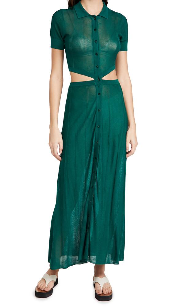 Devon Windsor Athena Dress in green
