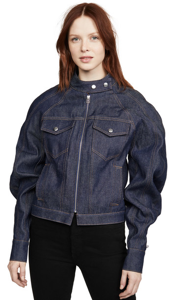 Eckhaus Latta Warped Denim Jacket
