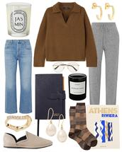 jeans,shoes,sweater