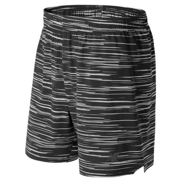 New Balance 53053 Men's 7 Inch Shift Short - Black/Grey (MS53053BGR)
