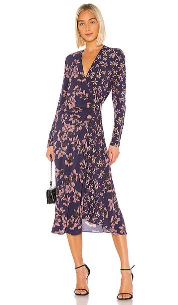 Rag & Bone Odette Dress in Purple