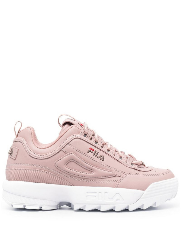 Fila Disruptor low-top sneakers in pink