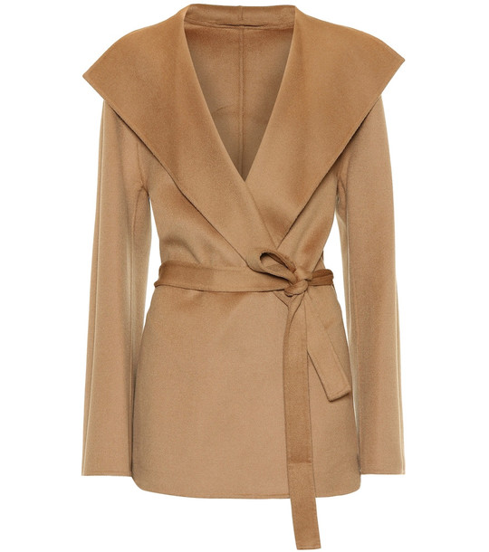 Joseph Lima wool and cashmere jacket in beige