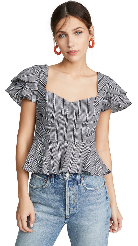 LIKELY Sydney Top in black