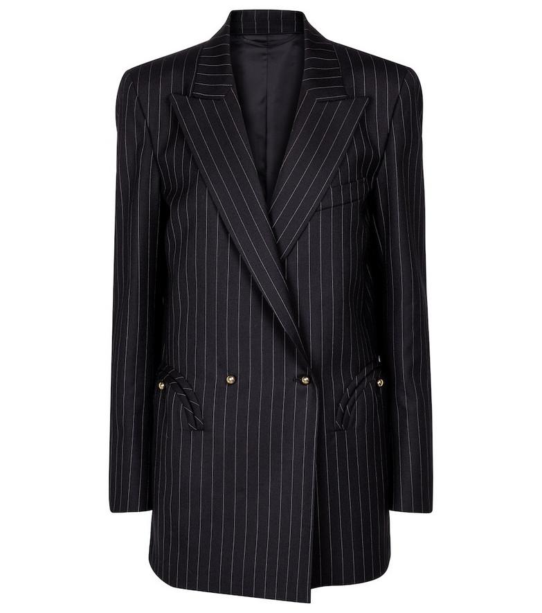 Blazé Milano J-Class Everyday pinstriped wool blazer in blue