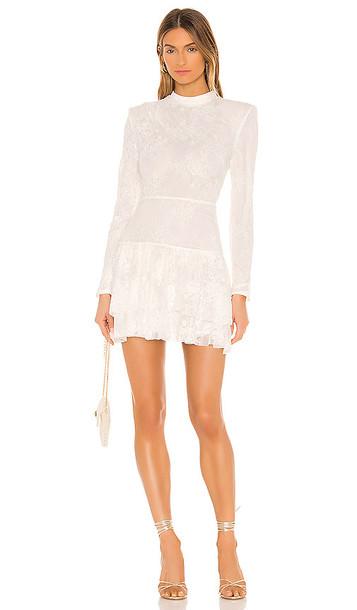 Michael Costello x REVOLVE Onex Mini Dress in White