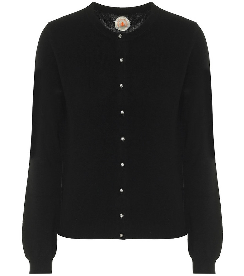 Jardin des Orangers Wool and cashmere cardigan in black