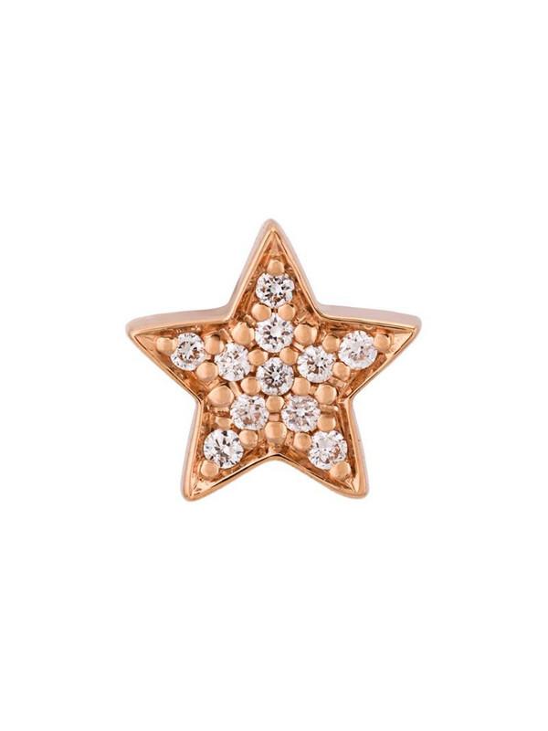 Alinka 18kt rose gold STASIA MINI Star diamond earring in metallic