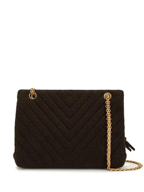 Chanel Pre-Owned 1995 V-Stitch shoulder bag in black