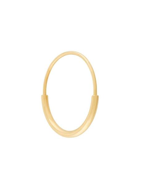 Maria Black Delicate Hoop 18 earring in metallic