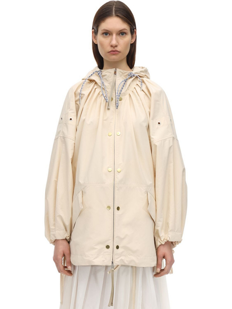 MONCLER GENIUS Amaranth Nylon Jacket in beige
