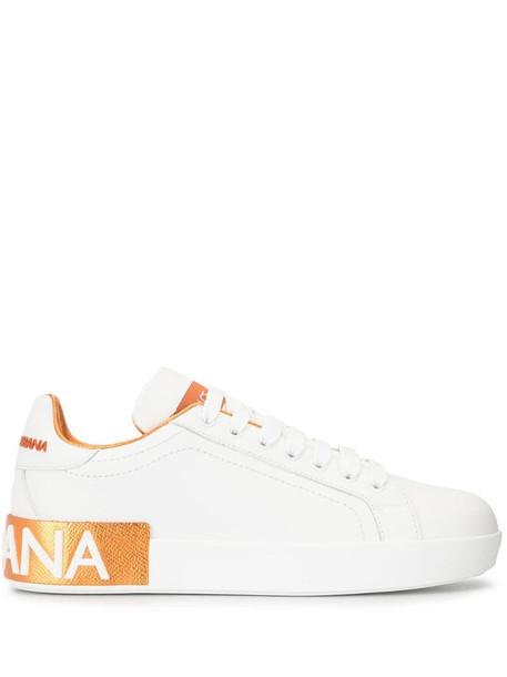 Dolce & Gabbana Portofino low-top sneakers in white
