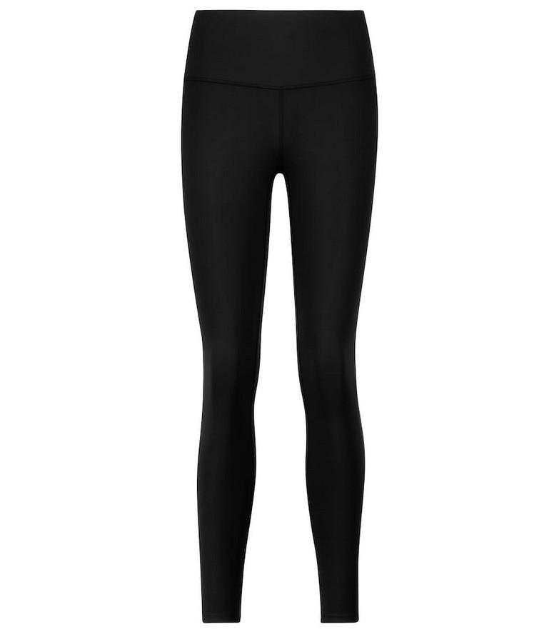 VARLEY High-rise leggings in black