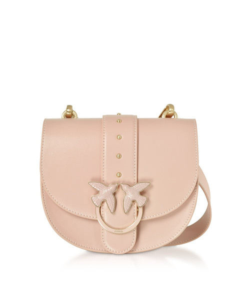 Pinko Round Love Crossbody Bag in pink
