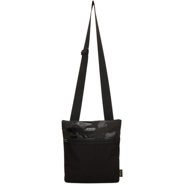 Diesel Black & Grey F-Urbhanity Crossbody Bag