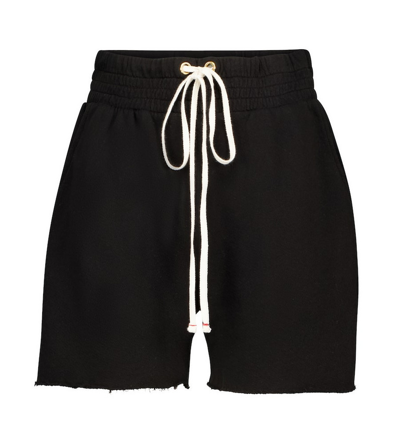 Les Tien Yacht cotton shorts in black