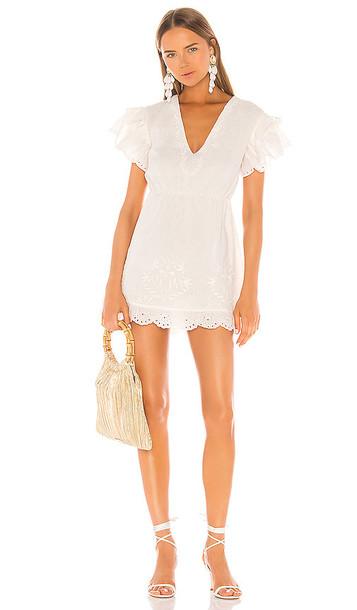 Camila Coelho Alina Dress in White