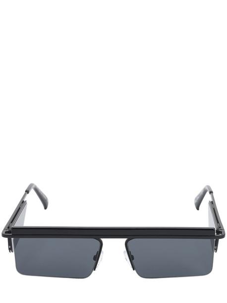 LE SPECS The Flex Satin Black Sunglasses