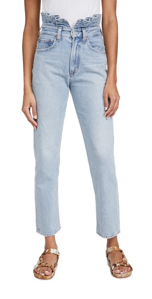 AGOLDE Lettuce Waistband Reworked Jeans