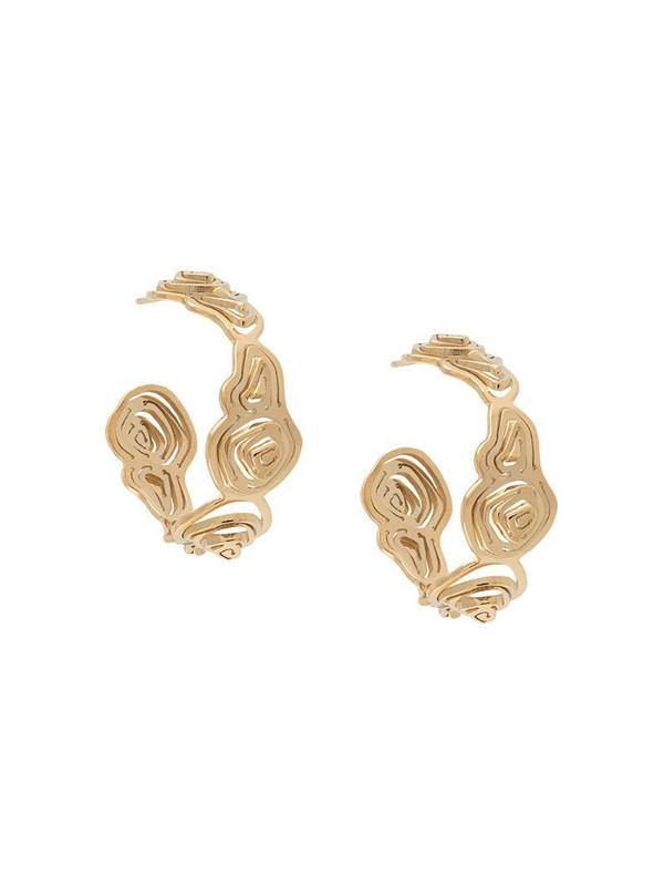 KAY KONECNA Pia hoop earrings in gold