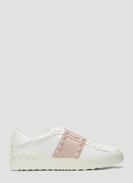 Valentino Rockstud Untitled Sneakers in Pink size EU - 36.5