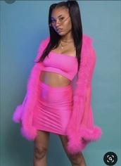 coat,pink