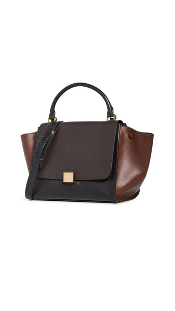 What Goes Around Comes Around Celine Multi Smooth Medium Trapeze Bag