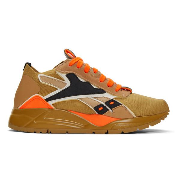 Reebok By Victoria Beckham Khaki Bolton Sock VB Sneakers