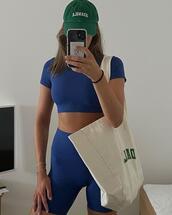 bag,top,shorts