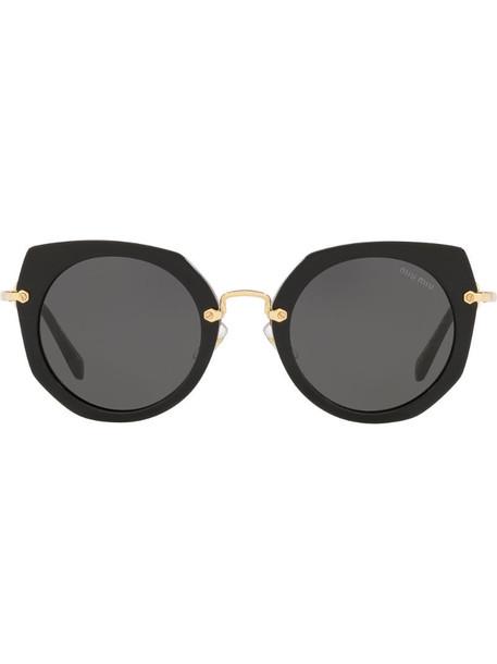Miu Miu Eyewear Artiste sunglasses in black