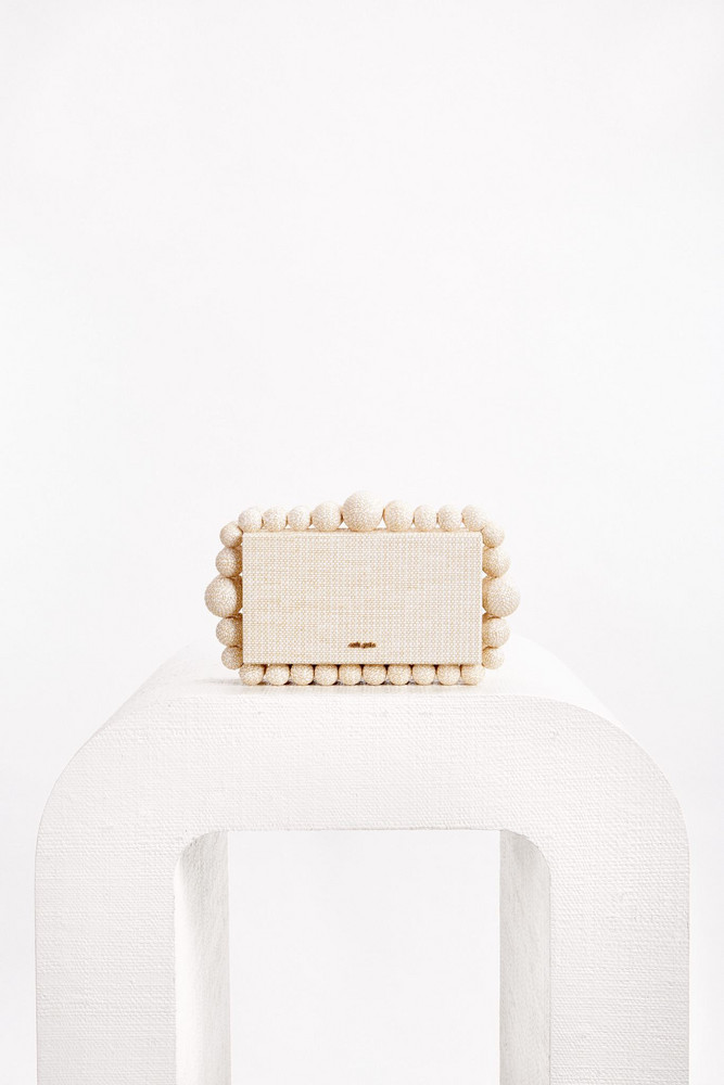 Cult Gaia Eos Box Clutch - Sand                                                                                               $378.00