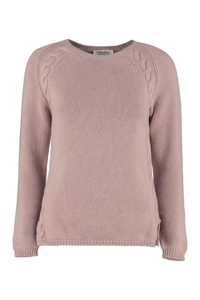 Max Mara Studio Giotpi Cashmere Pullover in pink