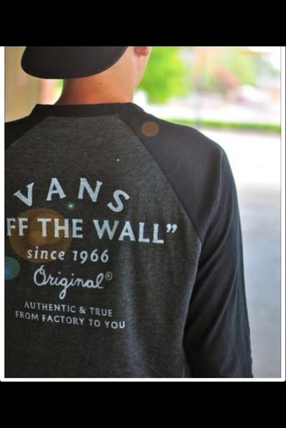 sweater vans vans of the wall