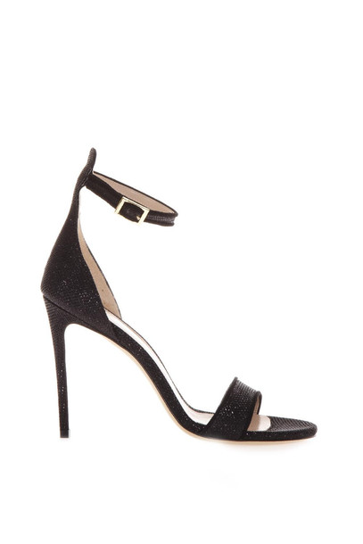 Aldo Castagna Black Kira Sandals In Leather