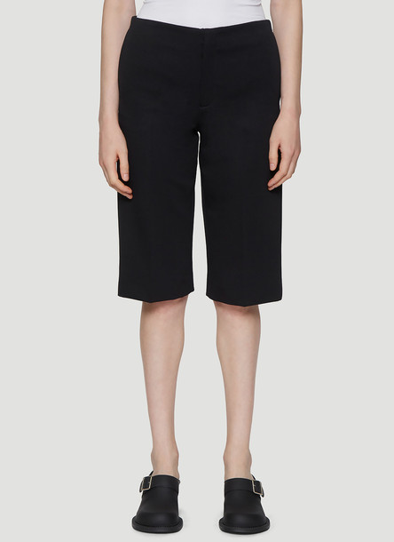 Maison Margiela Straight Leg Shorts in Black size IT - 44