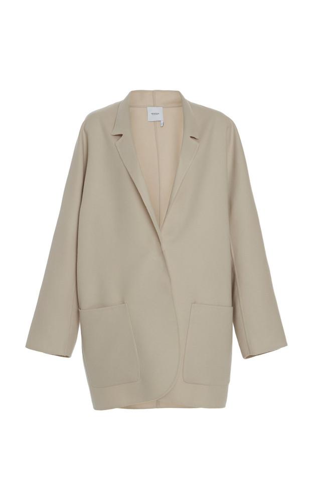Agnona Cashmere Kimono Jacket in neutral