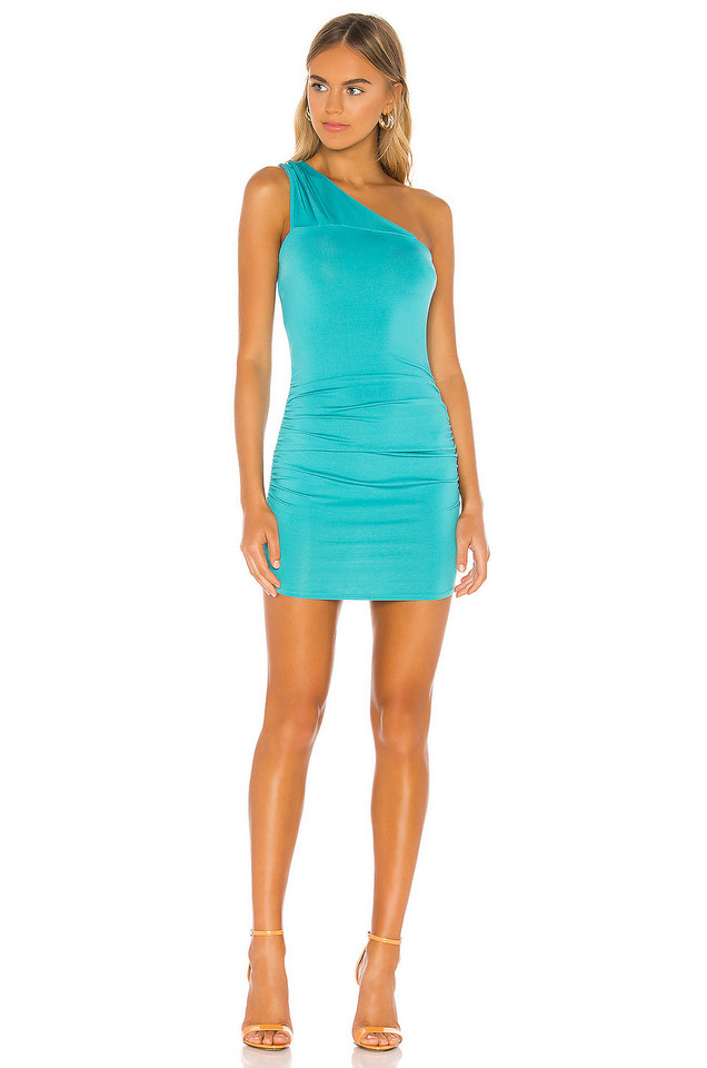 superdown Brielle Mini Dress in blue