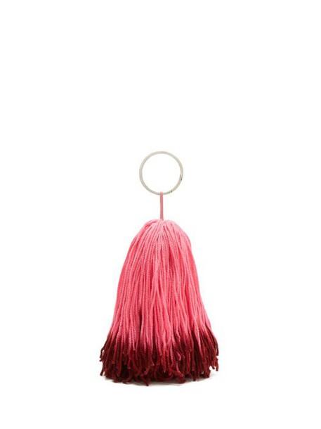 Calvin Klein 205w39nyc - Wkaa14 Tassel Belt Charm - Womens - Pink Multi