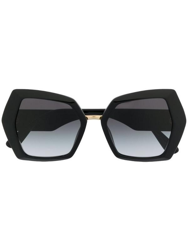Dolce & Gabbana Eyewear DG monogram sunglasses in black