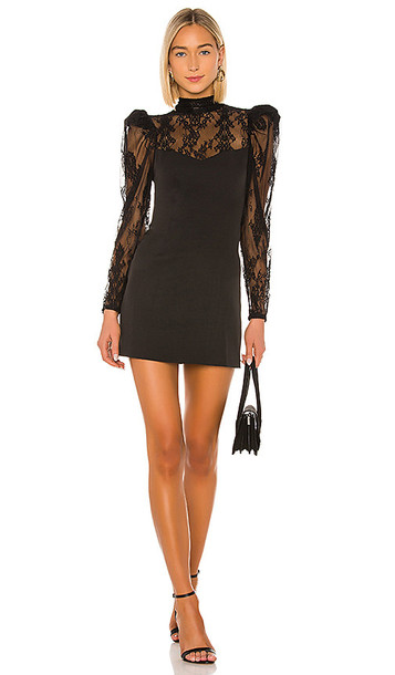 Lovers + Friends Lovers + Friends Fabian Mini Dress in Black