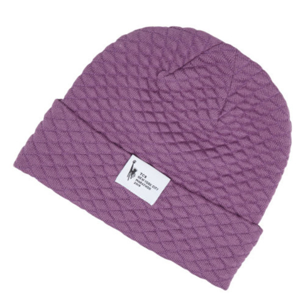 New Balance Men's & Women's NYC Marathon Warm Up Beanie - Purple (LAH9307MKPL)