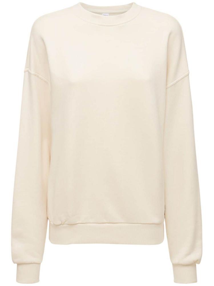 REEBOK CLASSICS Classic French Terry Sweatshirt in beige