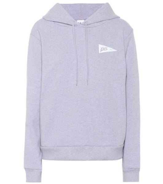 A.P.C. Printed hoodie in grey