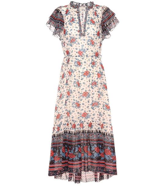 Ulla Johnson Reese floral silk georgette dress