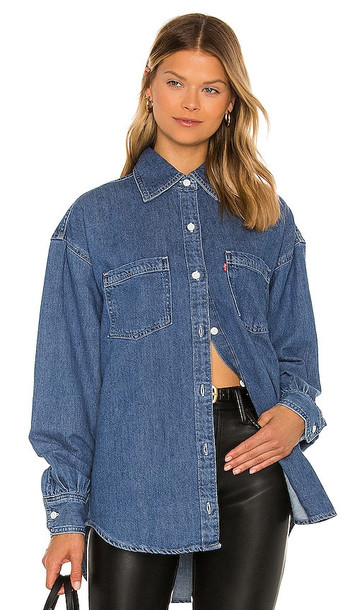 LEVI'S Remi Utility Shirt in Blue